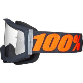 100% Accuri OTG Anti Fog Clear Goggles, gunmetal